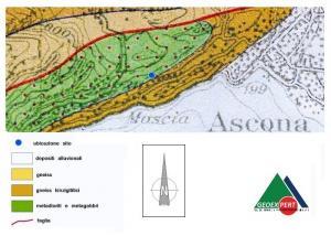 STUDIO GEOLOGICO-TECNICO RIGUARDANTE IL PROGETTO DI ACCESSO SOTTERRANEO ALLA PARTICELLA 2277 A