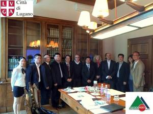 CHINA-Meeting with Lishui City Delegation