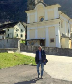 CHIESA PARROCCHIALE DI SANTO STEFANO - MAPPALE 258  - BLENIO