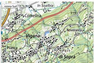 COMUNE DI BELLINZONA - STUDIO GEOMORFOLOGICO  MAPPALE 2260  RDF  (QUARTIERE CAMORINO)